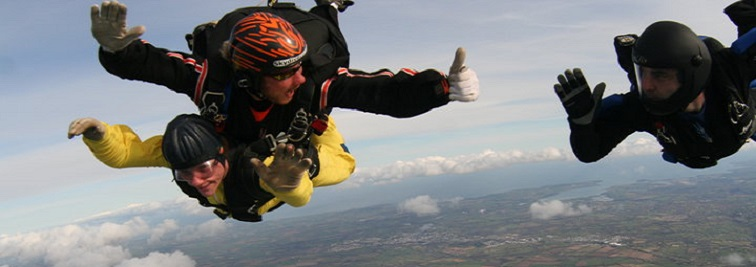 Skydiving in Truro, Aerial Sports in Truro - What's On In Truro